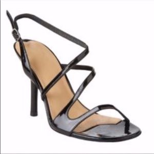 Via Spiga | Black Thin Wraparound Strap Heels 9M